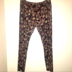 Bear Black & Brown Lularoe Leggings, TC 🐻